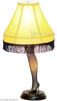 A Christmas Story Movie Leg Lamp