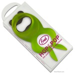 Hop and Pop Frog Shaped Bottle Oepner