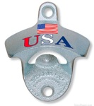 Patriotic Wall Mount Bottle Opener