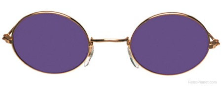 Purple John Glasses