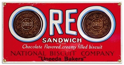 Nabisco Oreo Cookies Sign