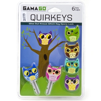 Owl Quirkeys Key Caps