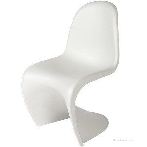 The Panton Chair in White
