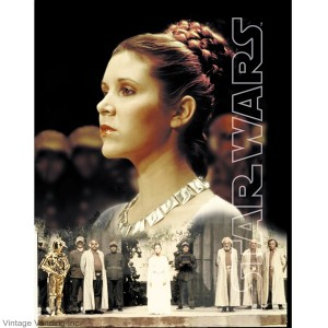 Star Wars Princess Leia Print