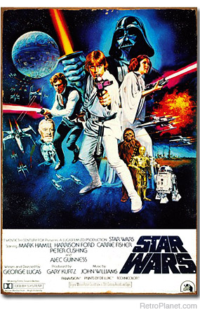 Star Wars Original Movie Poster Tin Sign
