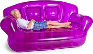 Inflatable Sofa In Purple