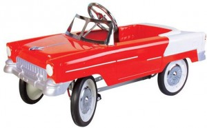 Classic 1950s Pedal Car in Red