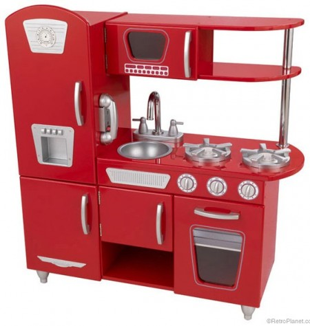 Retro Kitchen Playset