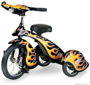 Retro Hot Rod Tricycle