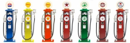 Mini Reproduction Gas Pumps