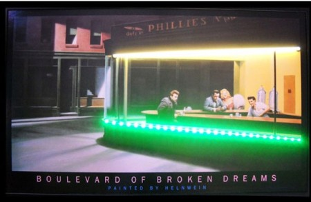 Boulevard Broken Dreams Neon LED Sign