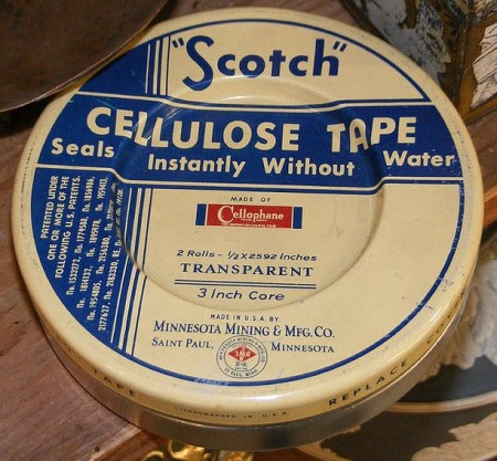 Vintage Scotch Tape Packaging