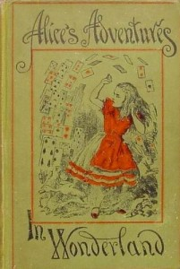 1898 cover of Alice's Adventures in Wonderland