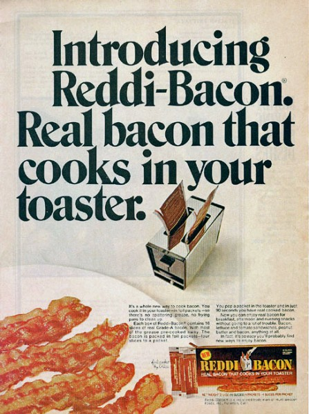 Reddi-Bacon Advertisement