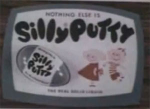 Silly Putty TV Commercial Screenshot