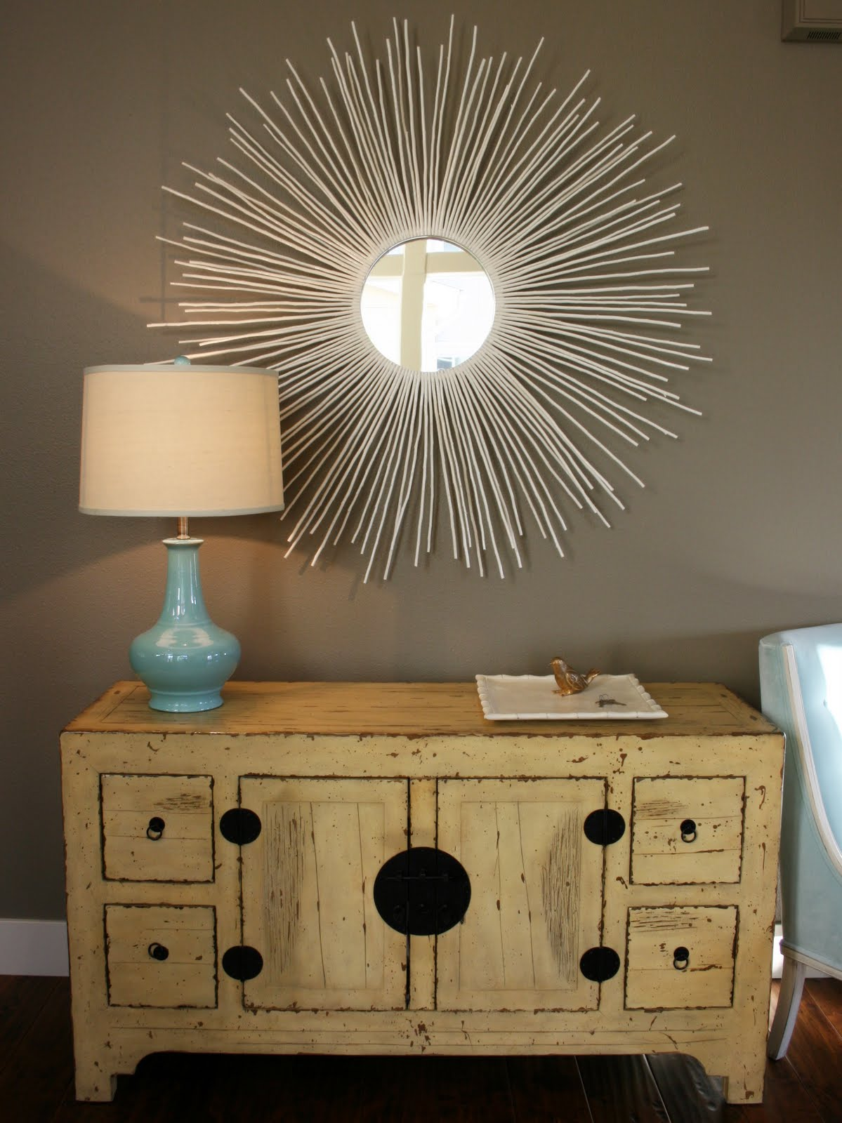 Weekend Diy Sunburst Wall Mirror