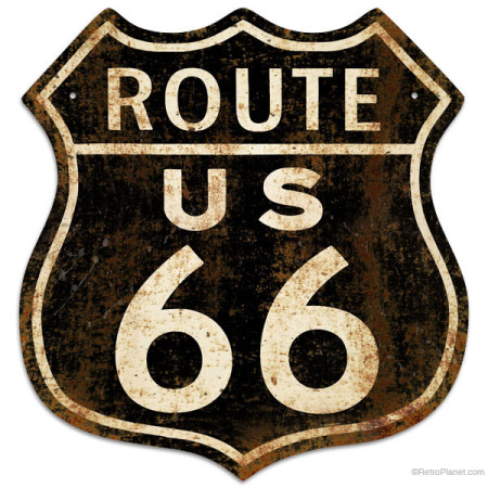 This Rustified Historic Route 66 Is Made Of 24 Gauge Steel In The Us