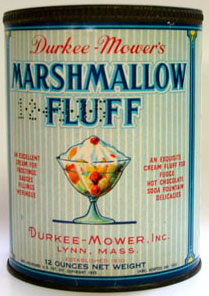 Branded Marshmallow Fluff Can