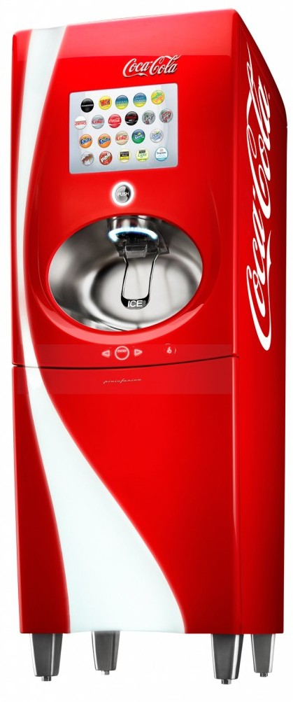 A Coke Machine The Jetsons Would Have Loved