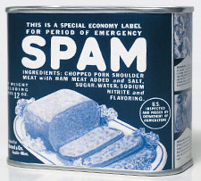 WWII SPAM label