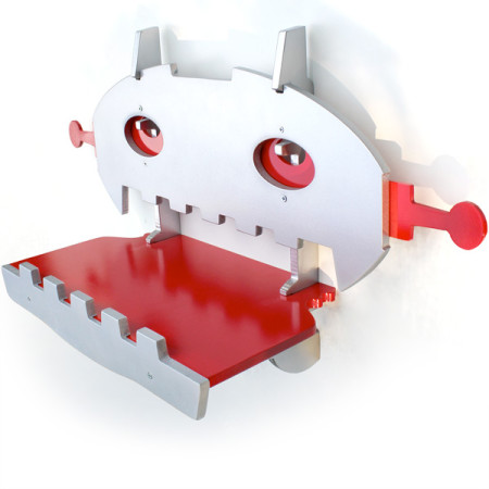 Red Robot Shelf