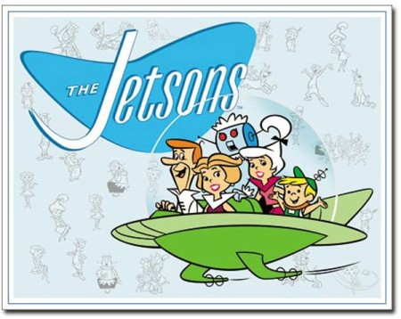 The Jetsons Tin Sign