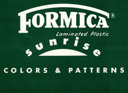 Formica Sunrise Catalog Logo