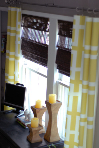 Easy retro curtains