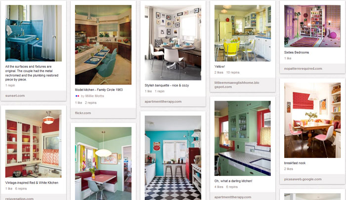 Our Unique Retro Decor Design Ideas Board Features Both Real Rooms And Spotlights From American Catalogs Advers