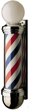 William Marvy Model 824 Globe Wall Barber Pole