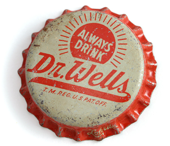 Dr. Wells Soda Pop Bottle Cap