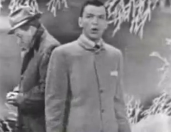 Screenshot from a 1951 episode of The Frank Sinatra Show