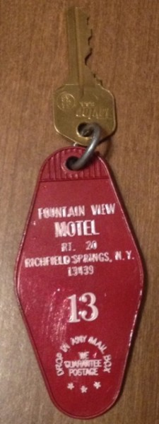 Old Key Tag