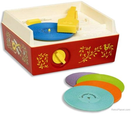 Reproduction Fisher-Price Record Player