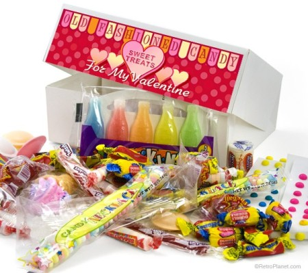 Valentines Retro Candy Box