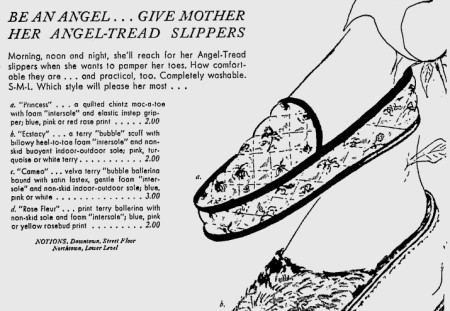 1966 Angel Treads Ad