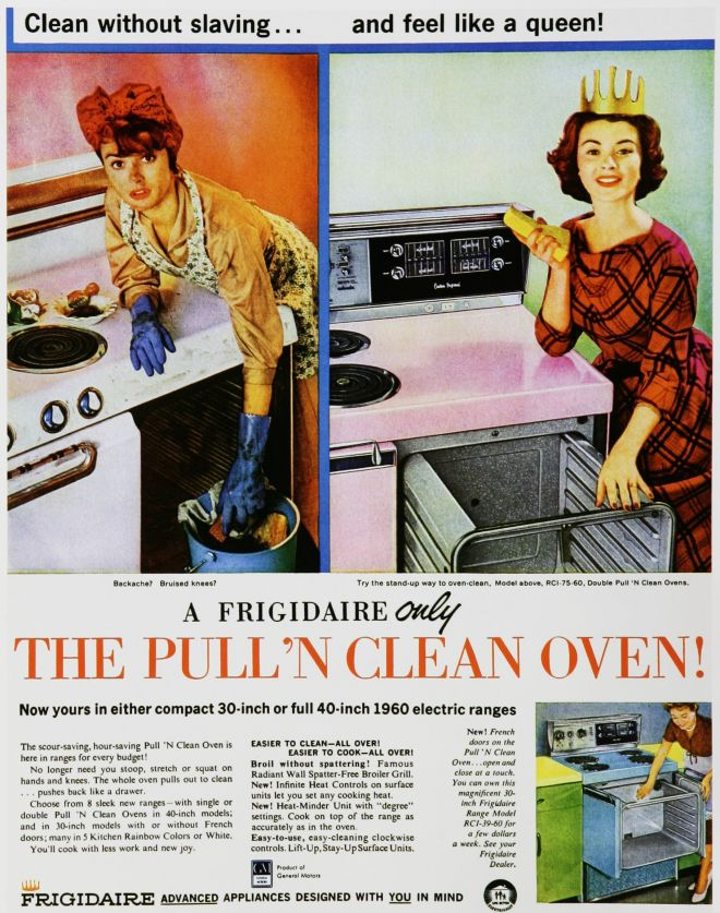 Frigidaire S Pull N Clean Oven 1958 1960s