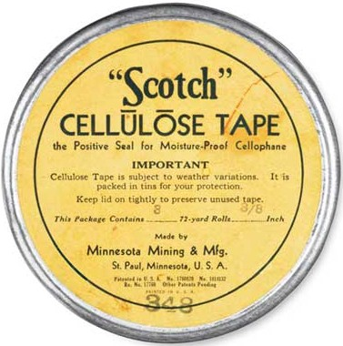1930 3m Markets Scotch Tape