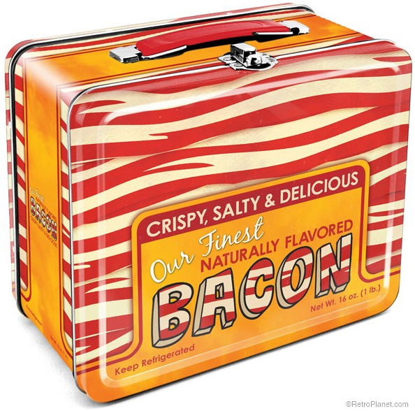 Bacon Themed Lunch Box