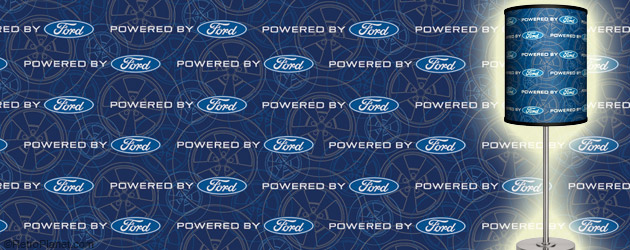 Powered by Ford Table Lamp