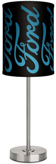 Ford Script Table Lamp
