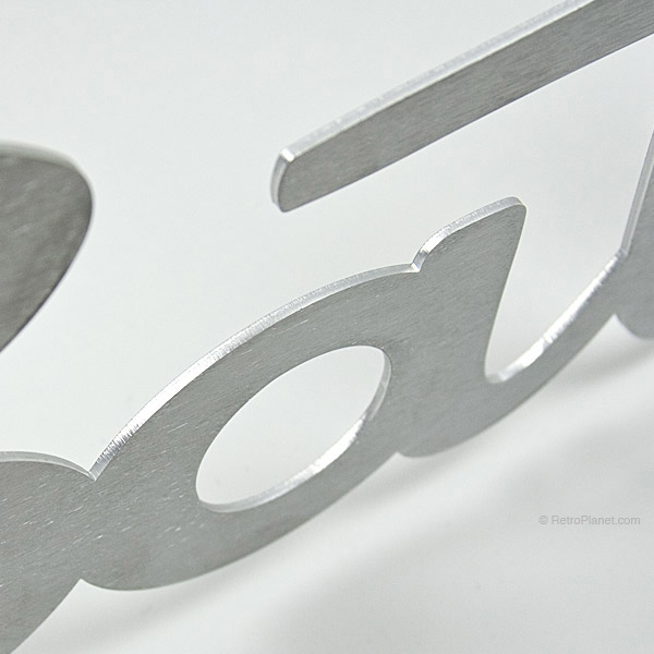 Closeup Bath Aluminum Sign