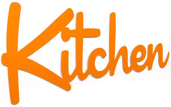 Kitchen Word Sign