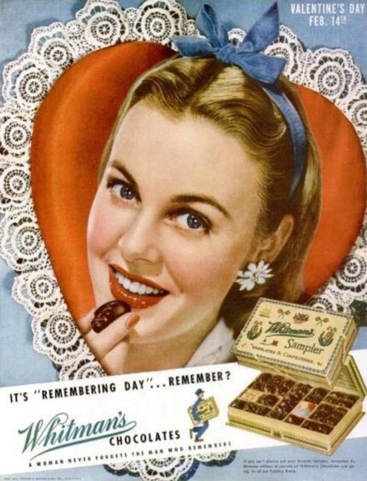 Remember Whitman's Valentine's Day Ad