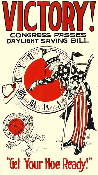 1918 DST Support Poster