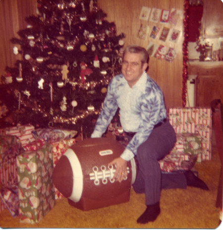 Joe's Dad with the toy chest