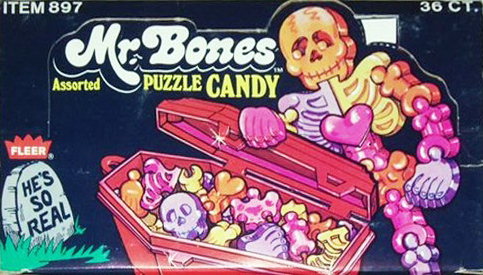 Case box for Mr. Bones