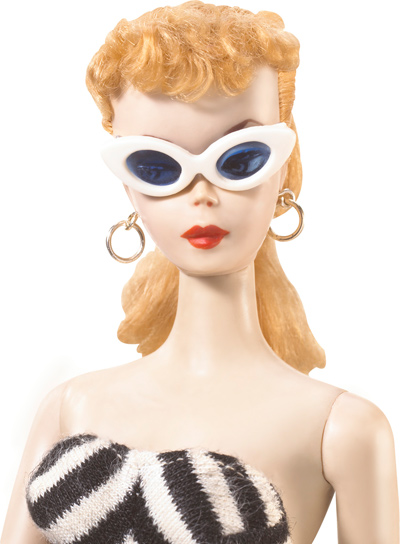 Original Barbie with Glasses