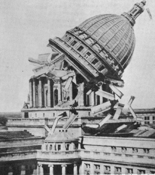 Wisconsin Capitol Collapsed (1933 hoax)