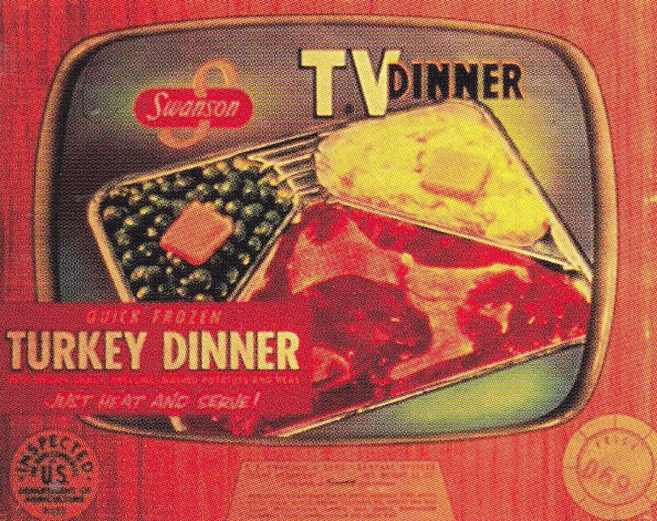 Early TV Dinner Packaging